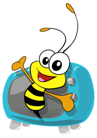 bee on TV