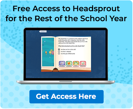 Free Access to Headsprout for the Rest of the School Year